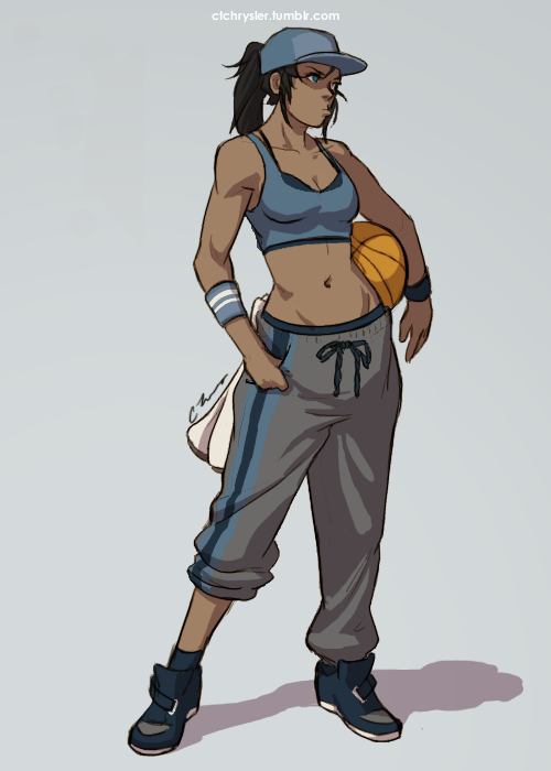 ashashi-corner:  korrashorts:  ravenshermithole:  ctchrysler:  Warmup of the day!  6/3  Air Korra … not the airbending kind of Korra this time.  The MJ kind of Korra who can bring the heat on the court, handle the rock with fluid moves aaaaaaaaaaannnd probably needs to work on her hops with coach Tenzin :l I am the lamest of the lame :D   ID TAP THIS. HNNGGGGG  BEST THING EVER TO EXIST. ♥  GET IN MY BED.  uh hi there