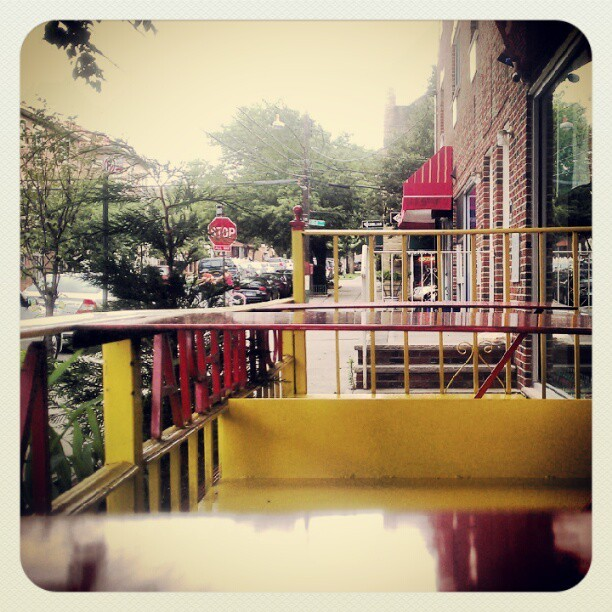 It's raining in beautiful #Queens  (Taken with Instagram at Tortilleria Nixtamal)