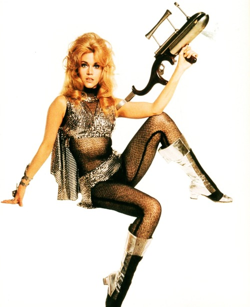 updownsmilefrown:  Jane Fonda as Barbarella, 1968