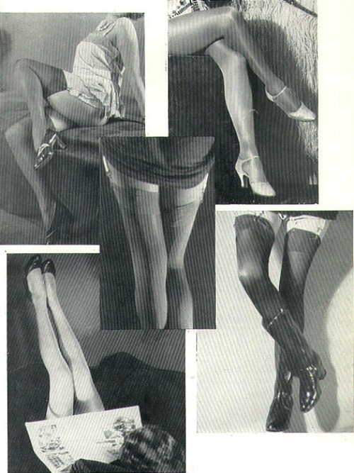 Jambes from Paris Plaisirs, c. 1930sAlso