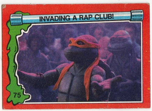 Bucket list entry: invade a rap club.