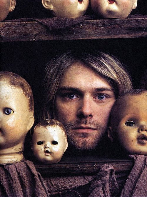 Foto do dia: © Foto de Mark Seliger. Kurt Cobain. Kalamazoo, Michigan, 1993.
