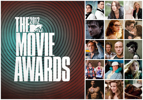 "Livestreams to see the MTV Movie Awards 2012     Nominations: Rob and Kristen for ""Best Kiss""  ""Breaking Dawn Part 1"" for ""Movie of the Year""  Bryce Dallas Howard for ""Person most Vil on Screen""   Kristen presented with his fellow cast in SWATH, Chris Hemsworth.  Red Carpet 8pm EST 