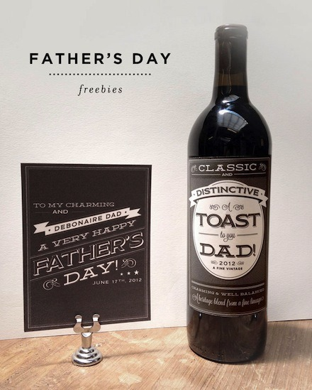 Awesome father's day printables! Follow source to download!