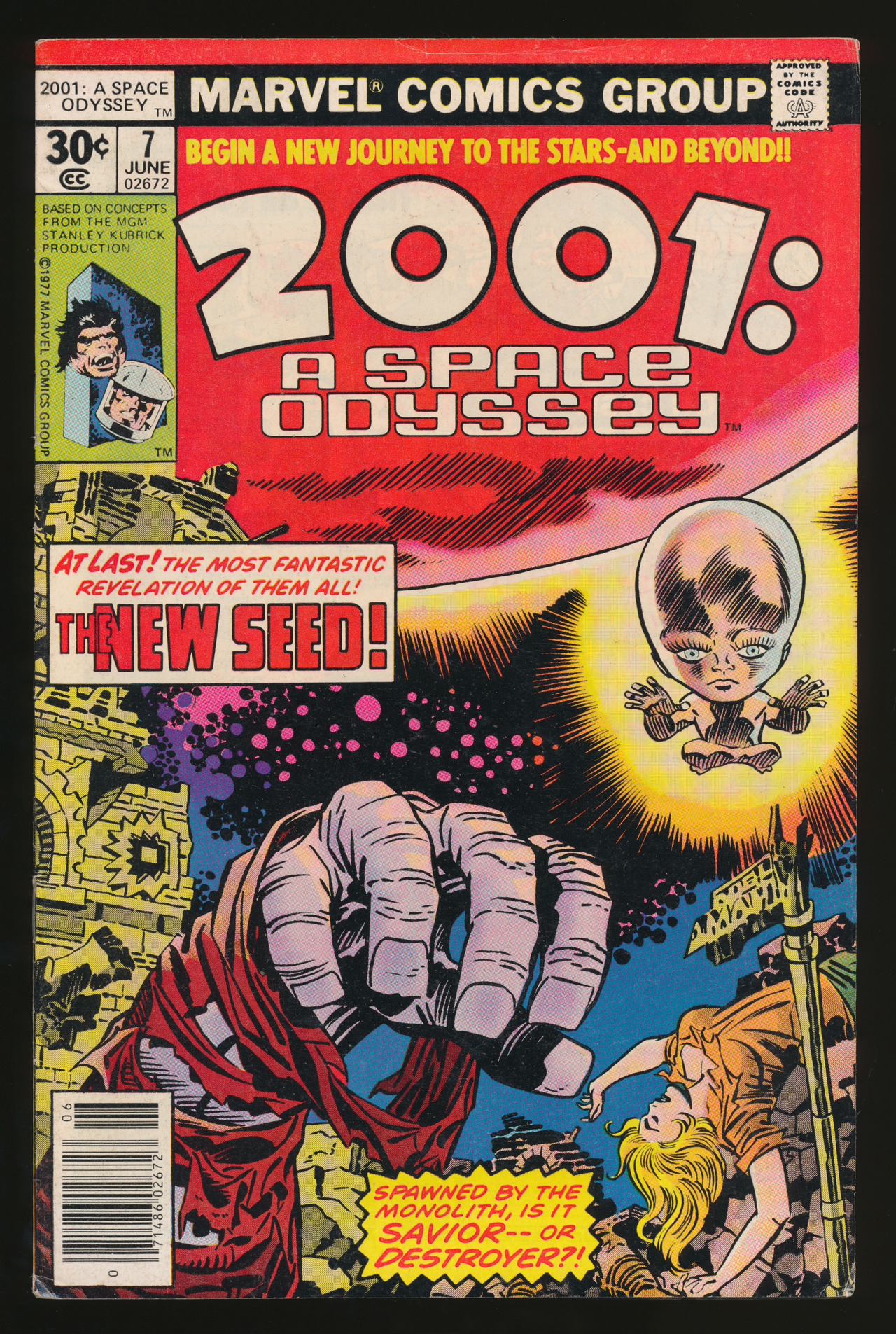 2001: A Space Odyssey #7(Jun. 1977)