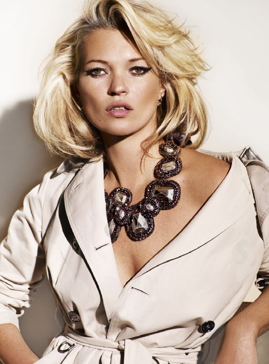 Vogue UK September 2009Kate Moss by Mario Testino