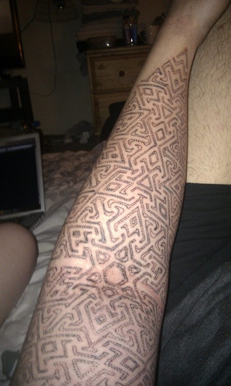 50% there. Shading to go - c/o Matt Black, at Divine Canvas in London.