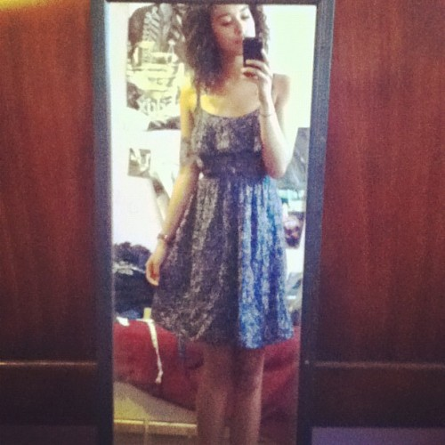 Feelin like a lady. (Taken with instagram)
