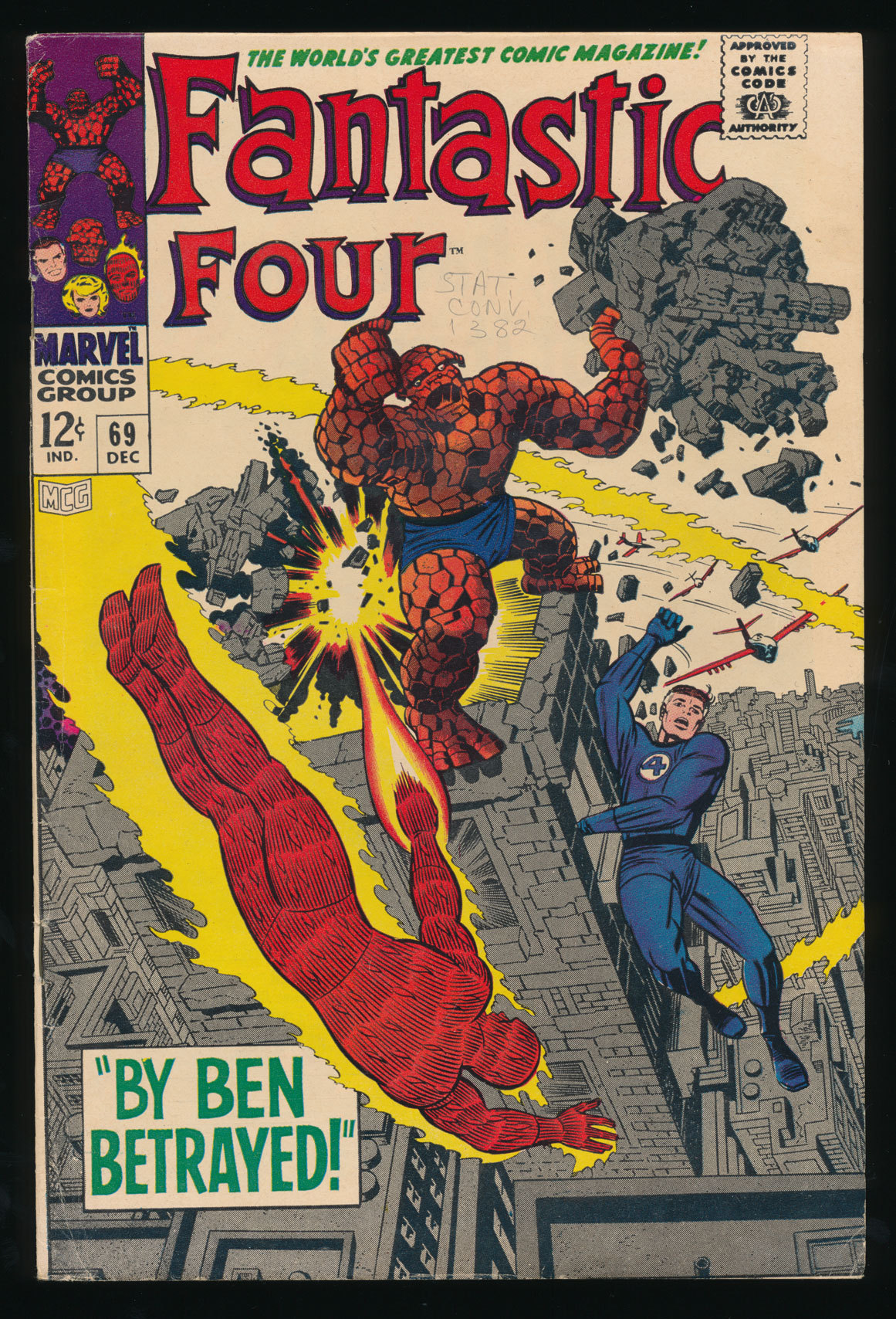 Fantastic Four #69(Dec. 1967)