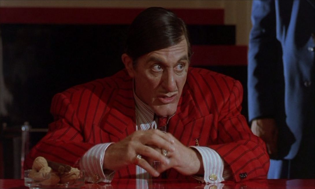 Al Pacino in Dick Tracy, 1990.