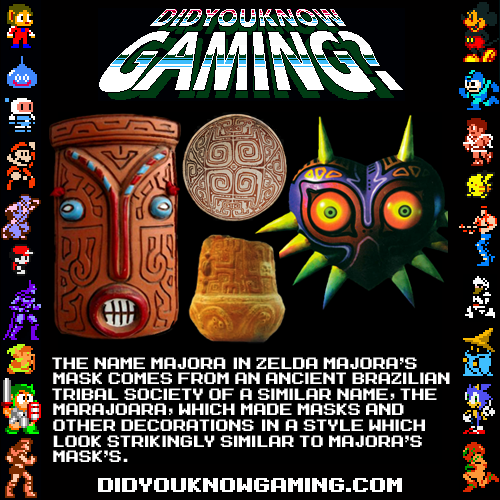didyouknowgaming:  The Legend of Zelda: Majora's Mask. Source.