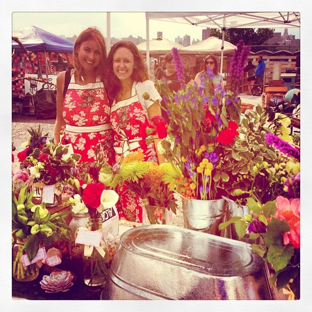 Visiting @maabbott's booth at the Williamsburg flea. (Taken with Instagram at Brooklyn Flea)