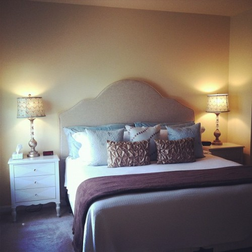In headboard heaven! (Taken with instagram)