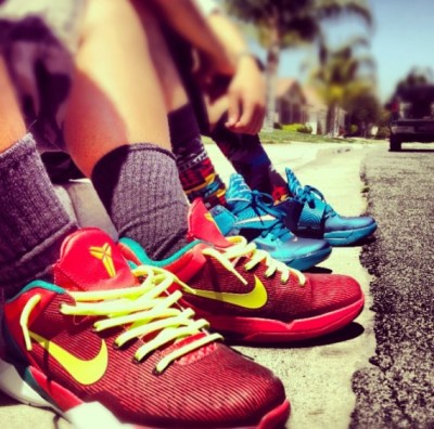 solesabovehoes:  YEAR OF THE DRAGON KOBE VII & KD IV <3 <3 <3