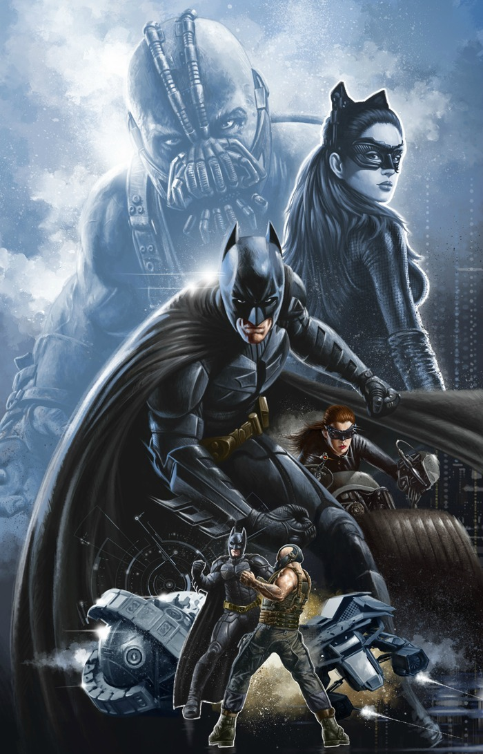 youngjusticer:  A hero's job is never finished. The Dark Knight Rises, by Mike Penn.