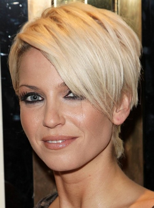 Sarah Harding very short hairstyle