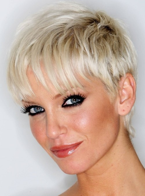 celebrities short haircut styles