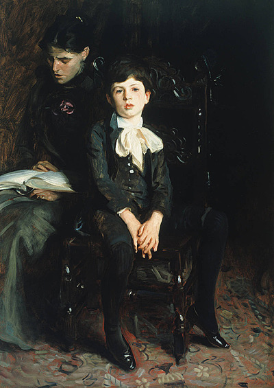 welovepaintings:  John Singer Sargent (American, 1856-1925) Portrait of a Boy 1890 Oil on canvas 142.6 x 100.3 cm Patrons Arts Fund. Carnegie Museum of Art, Pittsburgh
