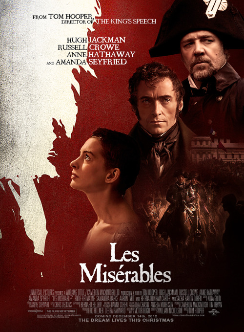 LES MISÉRABLES by Ramon Bosch Souza. Fan poster #2 by Ramon Bosch. http://www.flickr.com/photos/ramonbosch/