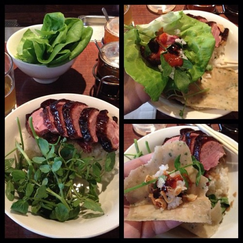 helencho:  .@momofuku duck lunch noms (Taken with instagram)