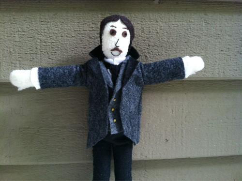 Coming soon! Felty Nikola Tesla!  Available on my etsy June 4th!