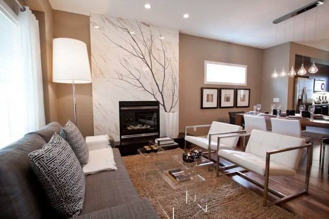 homedesigndream:  (via MH3 - modern - living room - calgary - Natalie Fuglestveit Interior Design)
