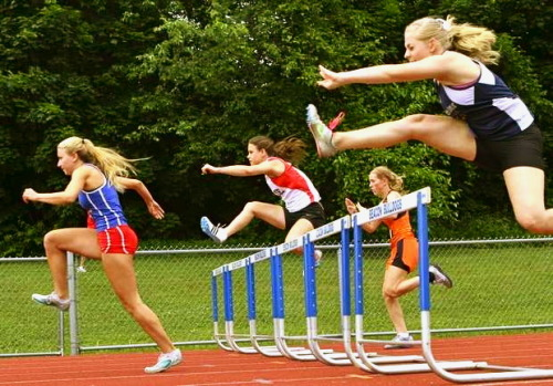 Hurdles. I miss them.