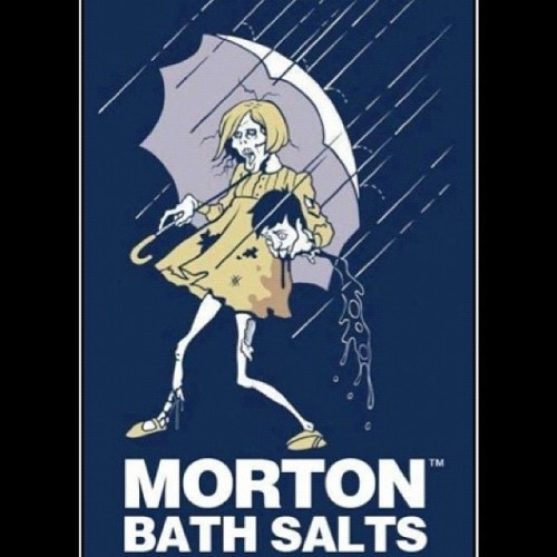 amandasunshinedaydream:  #zombie (Taken with instagram)  bath salts