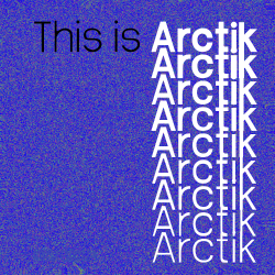 nathan-caldecott:  This is Arctik. It's a brand new, custom-made font, available in 9 weights, and best of all, it's completely free to use!Arctik takes inspiration from both humanist and neo-grotesque fonts, bringing the warm classiness of fonts like Helvetica or Rail Alphabet, with a more modern tinge, with inspiration from Roboto, and Frutiger. The font appears human, and hand-crafted, with small irregularities in the thickness and curves adding to the font's character. Arctik includes a full upper and lowercase alphabet, with numbers, full punctuation, and some extras. It's available in 9 weights, all included in the zip package, alongside the promotional artwork and some advice and information on licensing. Commercial use is permitted for Arctik 3, the other weights require permission before being used.Enjoy the font!