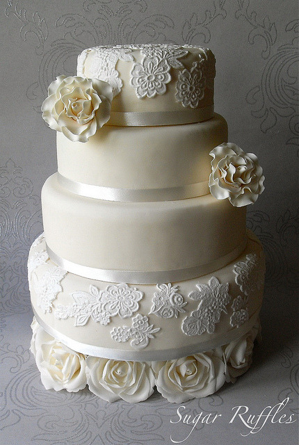 Creamy Dreamy…Wedding Cake