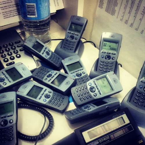 Phone orgy :P  (Taken with instagram)