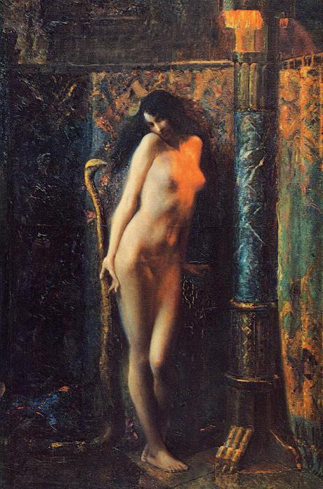 "mertseger:  Gaston Bussiere (French, 1862-1929), ""Salammbo"""