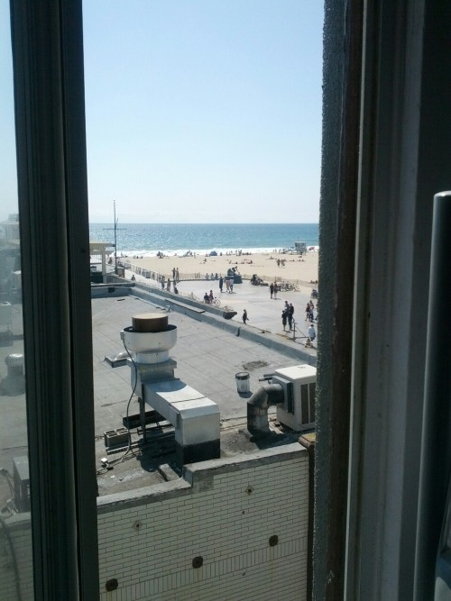 View from place I'm staying. Hamosa Beach L.A!