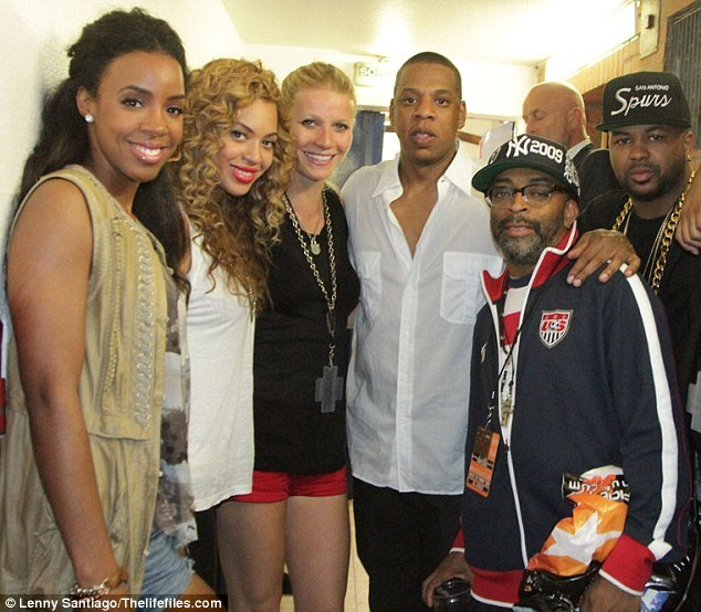 Kelly Rowland, Beyonce, Gwyneth Paltrow, Jay-Z, Spike Lee, and the Dream…damn.