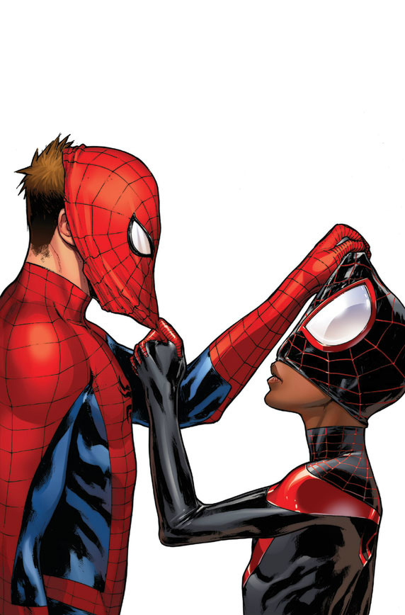 whythekoonessry:  when peter meets miles! i need this variant!