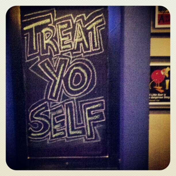 By the way… It's Treat yo self Sunday.  (Taken with instagram)