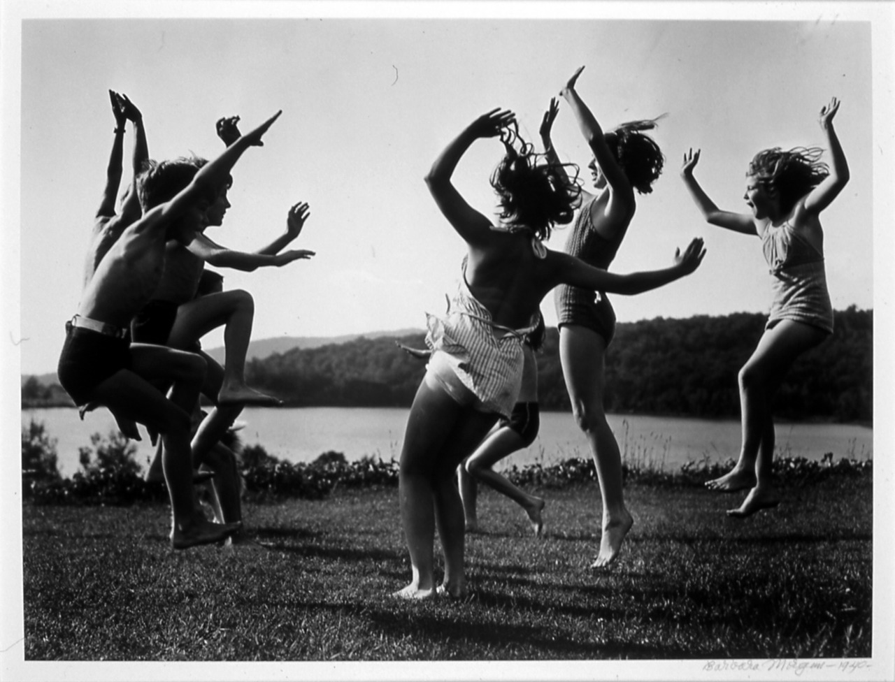 firsttimeuser:  Children Dancing by the Lake, 1940 by Barbara Morgan