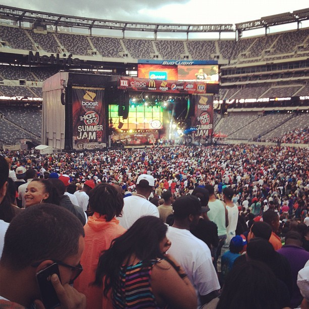 Summerjam 2012  (Taken with Instagram at MetLife Stadium)