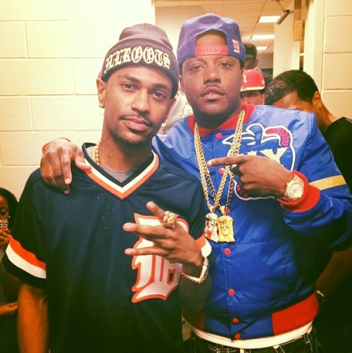 fashionjunki:  MA$E x BIG SEAN #swerve!