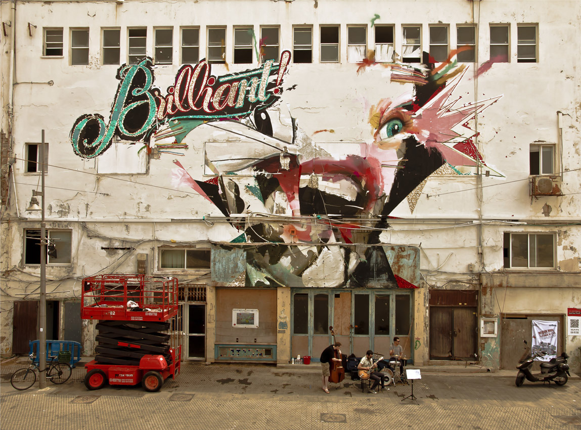 Really digging this street art set: The Pseudo-Advertising Series by Paris Koutsikos and Alexandros Vasmoulakis.