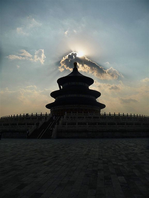 Appropriate lighting on Flickr.Temple of Heaven, Beijing