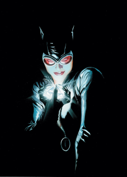 Artwork for cover of Batman #685. January, 2009. Art by Alex Ross.