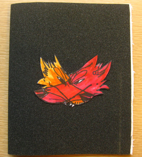 RRUFFURR cover: Grip tape with detachable hand-drawn sticker by Birds