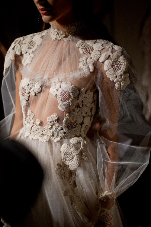 styledecorum:  Embroidery insanity at Valentino Spring 2012 Couture.