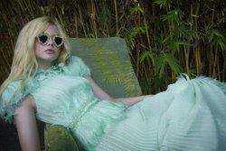Elle Fanning is soft and classic in this new feature from A Magazine Curated by Rodarte.