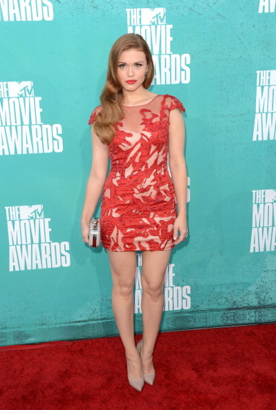 MTV Movie Awards Red Carpet 2012 - Holland Roden