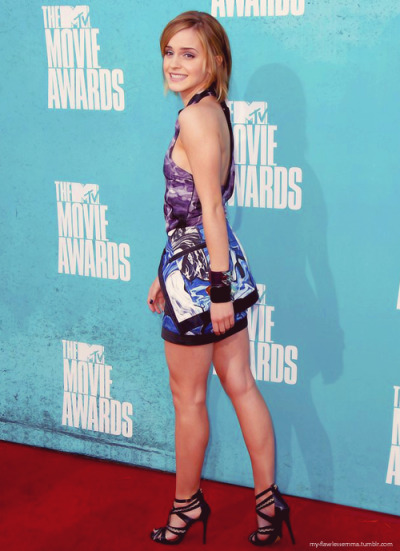 my-flawlessemma:  Emma at the 2012 MTV movie awards