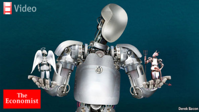 "Robot ethics: Morals and the machineeconomist.com Robot ethicsMorals and the machineAs robots grow more autonomous, society needs to develop rules to manage themIN THE clas­sic science-fiction film ""2001"", the ship's com­put­er, HAL, faces a dilem­ma. His instruc­tions require him both t…"