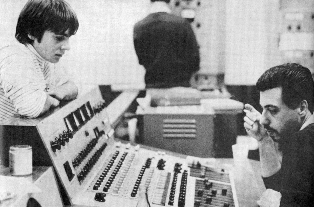 - davy in the studio.