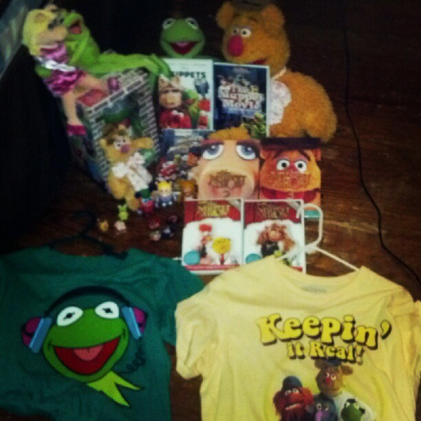 I think it's safe to say that I have a Muppet addiction… (Taken with instagram)